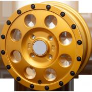 IMX12 : 特注色:GOLD+BLACKピアスボルト仕様