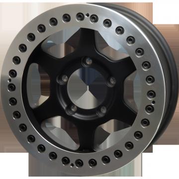 JMX16 Beadlock : Matte Black & DIA-CUT FINISH (Race Ring)